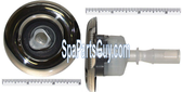 """210259 Vita Spa Midi Jet Face Measures 3"""" In Diameter Chrome Vita 700, Reflections 600 / 700"""