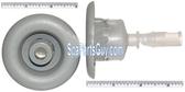 """210230 Vita Spa Midi Jet Face Measures 3"""" In Diameter Light Gray"""