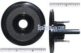 """210127 Vita Spa Mini Jet Barrel Face 2 3/4"""" In Diameter Black"""