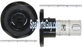 "210206 Vita Spa Quad Stream Swirl Jet Face 4 1/4"" In Diameter Black"