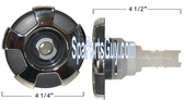 """320-6729 Marquis Spa Crown Stainless Directional Jet Insert 4 1/4"""""""