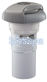 "340-6253 Marquis Spa Air Control 1"" Gray 4 5/8"" ,Length , 2 3/4"" Width"