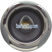 """03-1402-52 Artesian Spas Helix Directional Spa Jet 5"""" Face Gray w/ Stainless"""