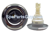 """03-1302-52 Artesian Spas Helix Directional Spa Jet 4"""" Face Gray w/ Stainless"""