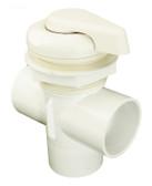 """600-3040B Waterway Diverter Valve ( Scallop) White 2"""""""