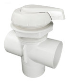 600-3060 Waterway Spa Diverter Valve Multiport ( Notched ) White 2""
