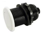 "Tecmark / Tridelta Air Button # MPT3428W White 1.25"""