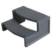 Handi-Step Spa Step by Confer For Straight or Round Spas (Dark Gray Color)