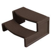 Handi-Step Spa Step by Confer For Straight or Round Spas ( Espresso Color)