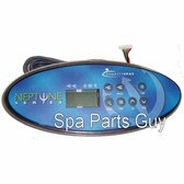 11010_11336 Dynasty Spa Topside Control Panel Includes Overlay Neptune Excalibur Series K-52