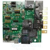 101-096 Coleman Spa 105/107 Circuit Board  Chip # 105/7R1