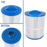 "Spa Cartridge Filter 50 Square Foot 8"" L x 6 3/4"" W x 2"" Thread Fits: Artesian Spas and others. Same As : 6CH502 , FC0311"