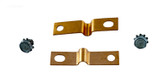 Balboa Spa Heater Strap Pair Copper Straight