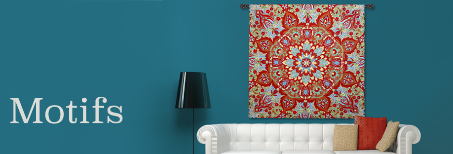 Shop Motifs Wall Tapestries