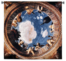 Ceiling Of The Camera Picta Wall Tapestry Wall Tapestry