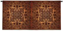 Double Iron Work Horizontal Wall Tapestry Wall Tapestry