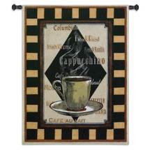 Cappuchino Time II Wall Tapestry Wall Tapestry