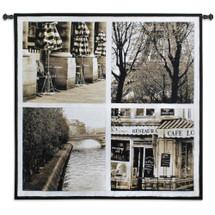 Parisian Moments Wall Tapestry Wall Tapestry