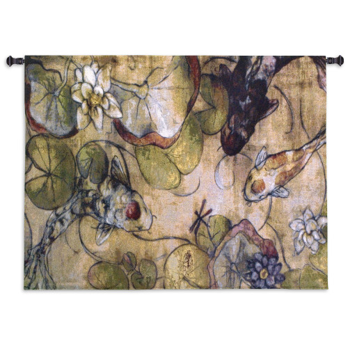 The Meeting Wall Tapestry Wall Tapestry