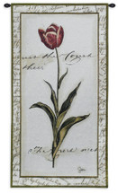 Pink Tulip I Wall Tapestry Wall Tapestry