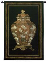 Oriental Jar I Small Wall Tapestry Wall Tapestry