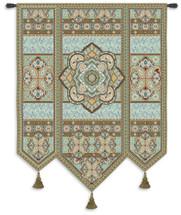 Masala Mint Wall Tapestry Wall Tapestry