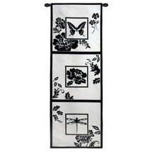 Silhouette Study Wall Tapestry Wall Tapestry