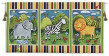 On Safari Wall Tapestry Wall Tapestry