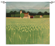 Spring Wheat Field Wall Tapestry Wall Tapestry