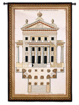 Palladio Facade II Wall Tapestry Wall Tapestry