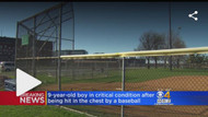 9 yr old Boy Hit in Chest with Baseball goes into Cardiac Arrest