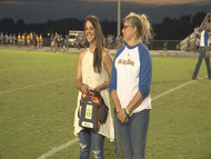 Professional Golfer Emma Talley gives AED to Kentucky school