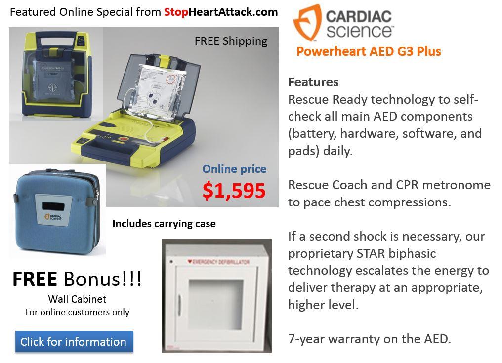 Cardiac Science G3+ Special