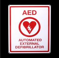 AED Locator Sign