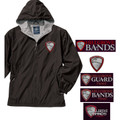 Full Zip Wind Jacket WITH Hood  -  HILLGROVE BANDS Embroidered Design