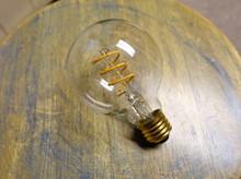 LED Edison Bulb - G25, Curved Vintage Spiral Filament, 4w/40w equiv.