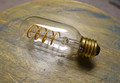 LED Edison Bulb - T14, Curved Vintage Style Spiral Filament, 4w/40w equiv.