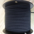Black Parallel (Flat) Cloth Covered Wire, Cotton