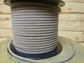 Putty Parallel (Flat) Cloth Covered Wire, Cotton