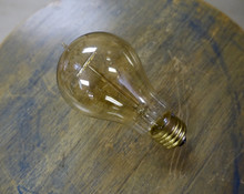 Edison Light Bulb, A21 Shape, 30 Watt Antique Spiral Filament