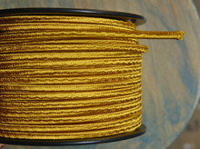 gold parallel flat cloth covered 2 wire