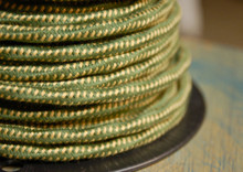 bungalow overbraid cloth covered 3 wire
