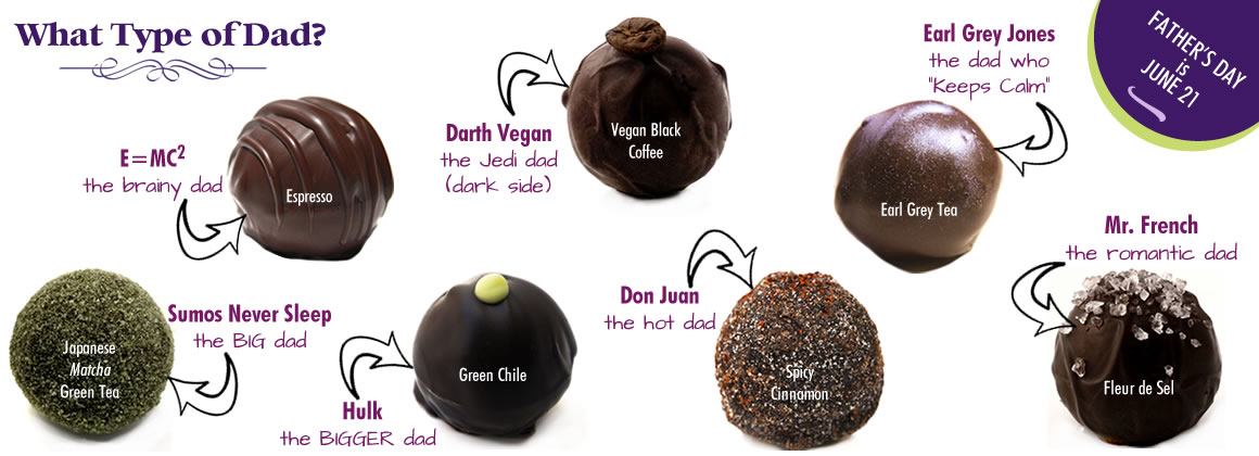Father's Day Gift Ideas - Best Chocolate Truffles