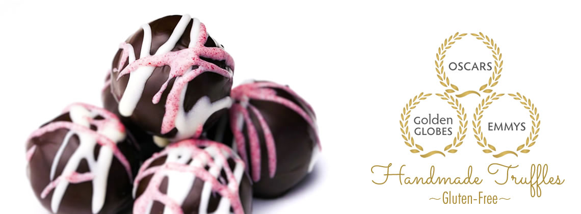 Best selections of gluten-free chocolate truffles at celebrity events