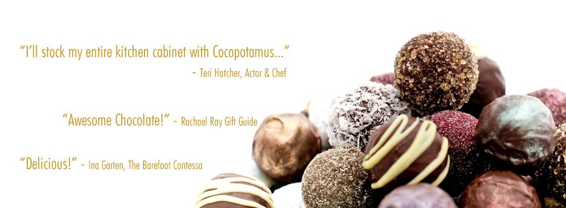best vegan chocolate truffles, gourmet chocolate