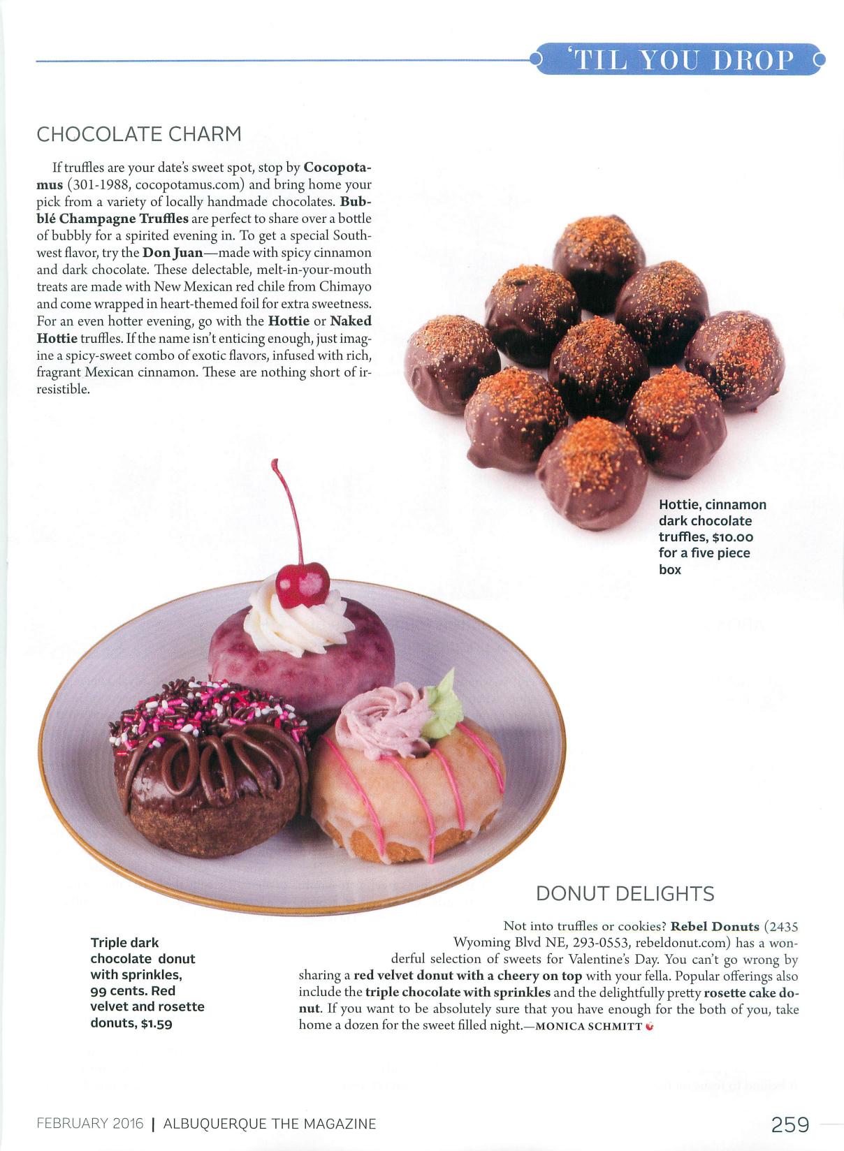 Cocopotamus Chocolate Press Coverage and Reviews