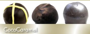 CocoCaramel truffles set
