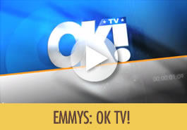 Cocopotamus best chocolate on OK TV! at the Emmy Awards