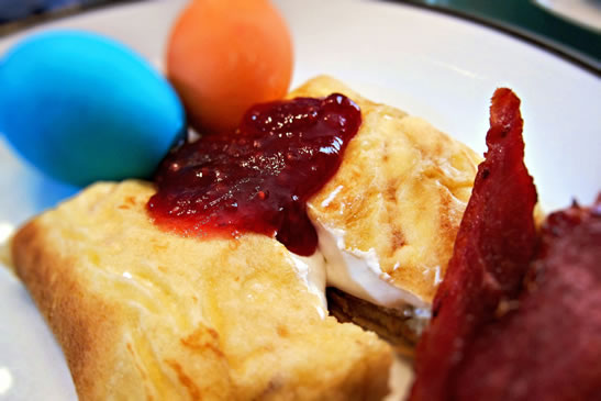 Gluten free food, cheese blintz, recipe, gluten free recipe