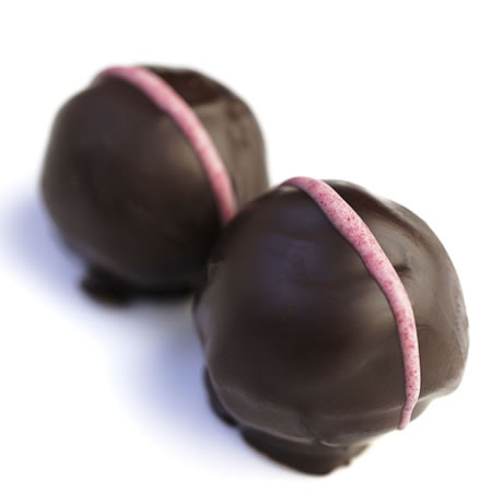 Oopsy-Daisy - coconut salted caramel truffles